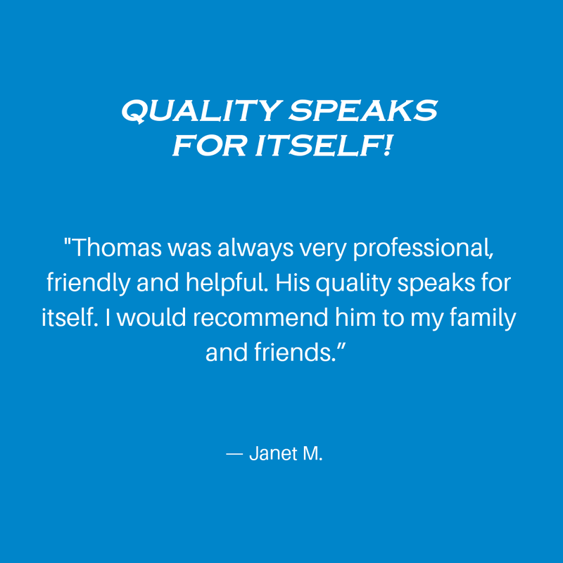 Quality Speaks for itself! Review of owner Thomas A West and West Construction, Minnesota