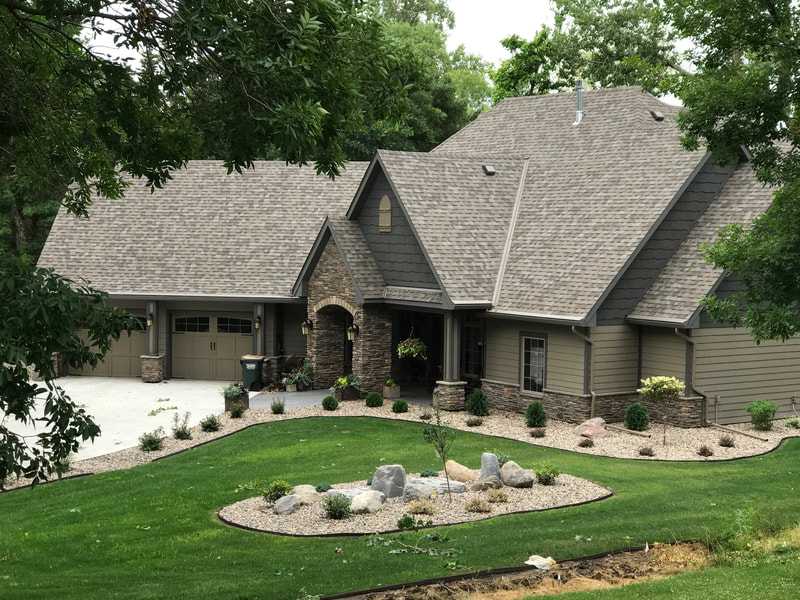 Lake home in Lakeville, Minnesota built by West Construction